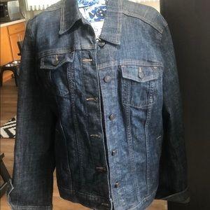 Gap denim jacket. XL